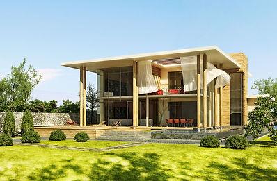 Prefab Villa. Prefabricated villa 5 bedroom
