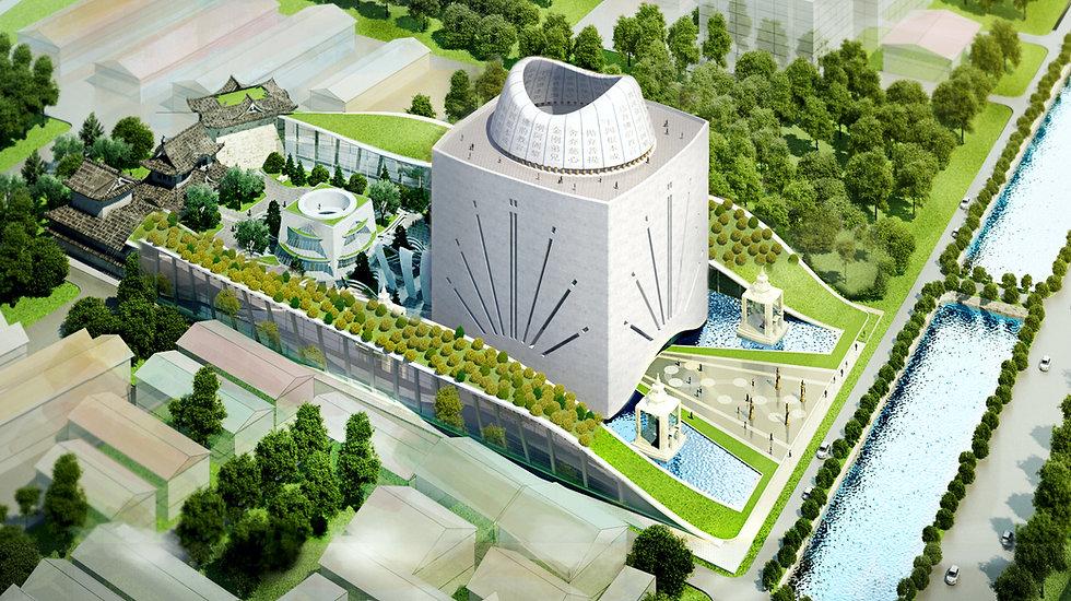 Buddha Temple Architectural Design