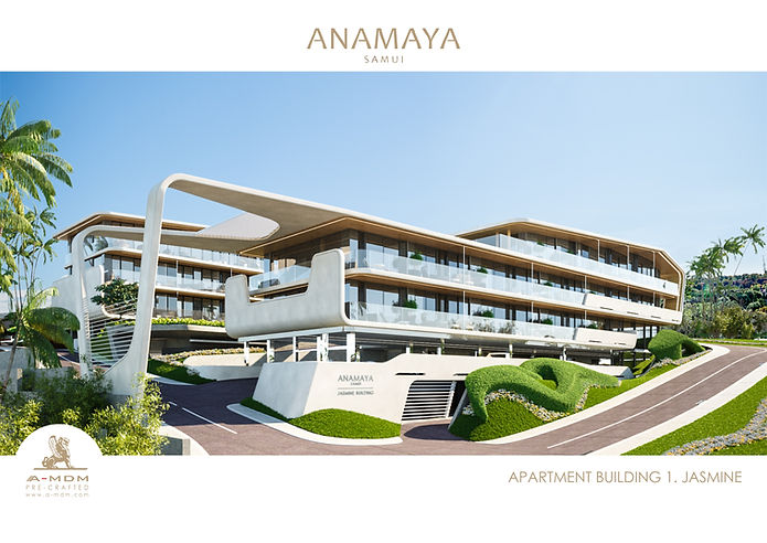 ANAMAYA G WEST. BUILDING 1. JASMINE. VIE