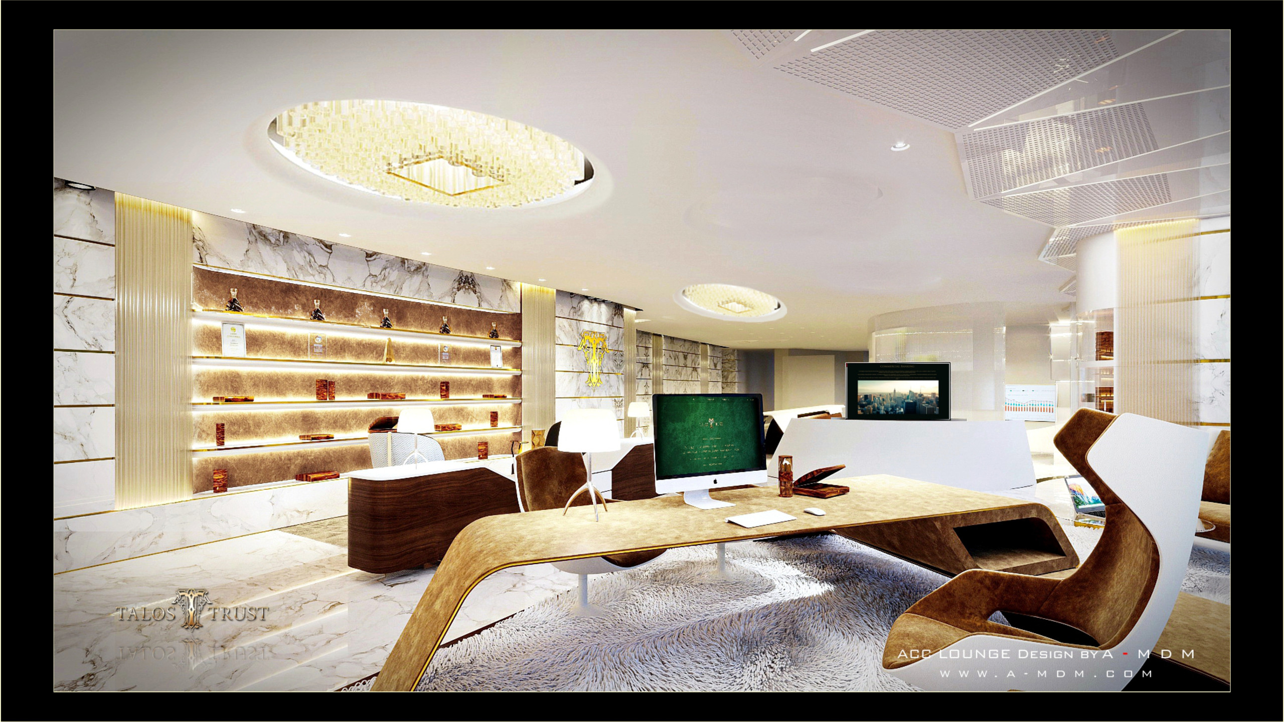Interior Design of Business Center