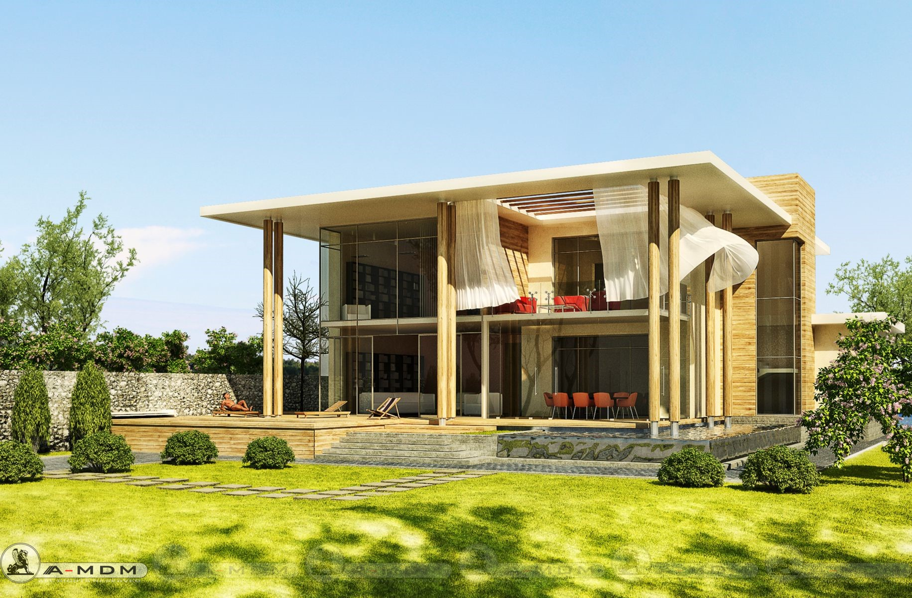 HOUSE DE500, 4 bedrooms, 495m²