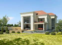 Sea view House modern-classic style