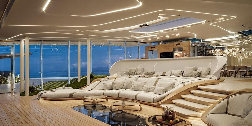 Luxury seaview villa.