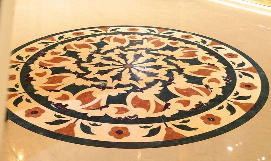 Cassino floor detail