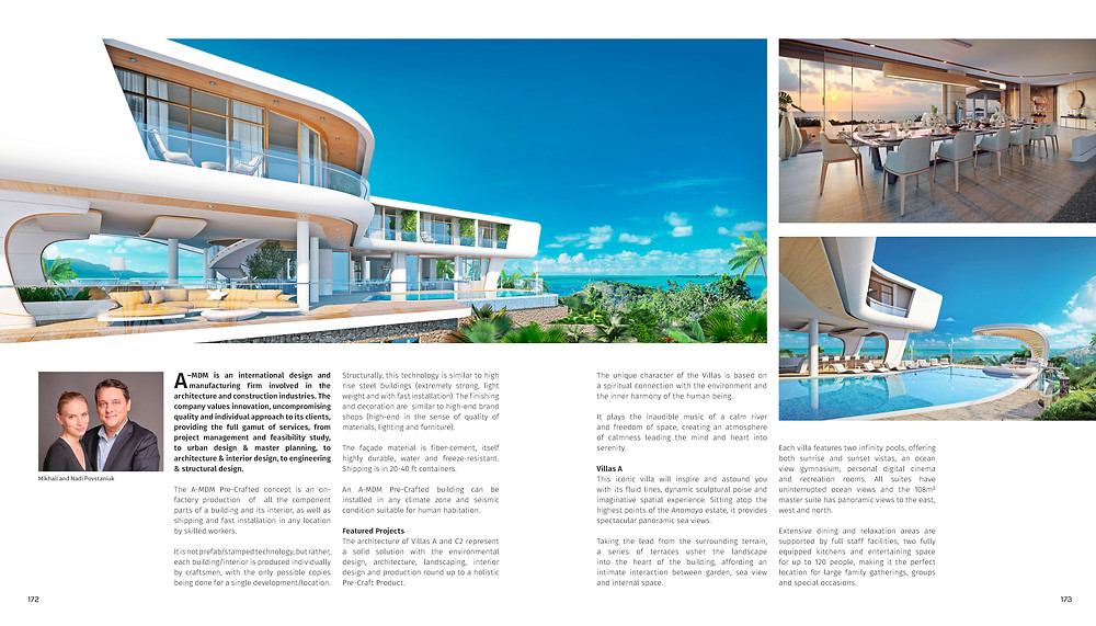 Luxury Villa international design award