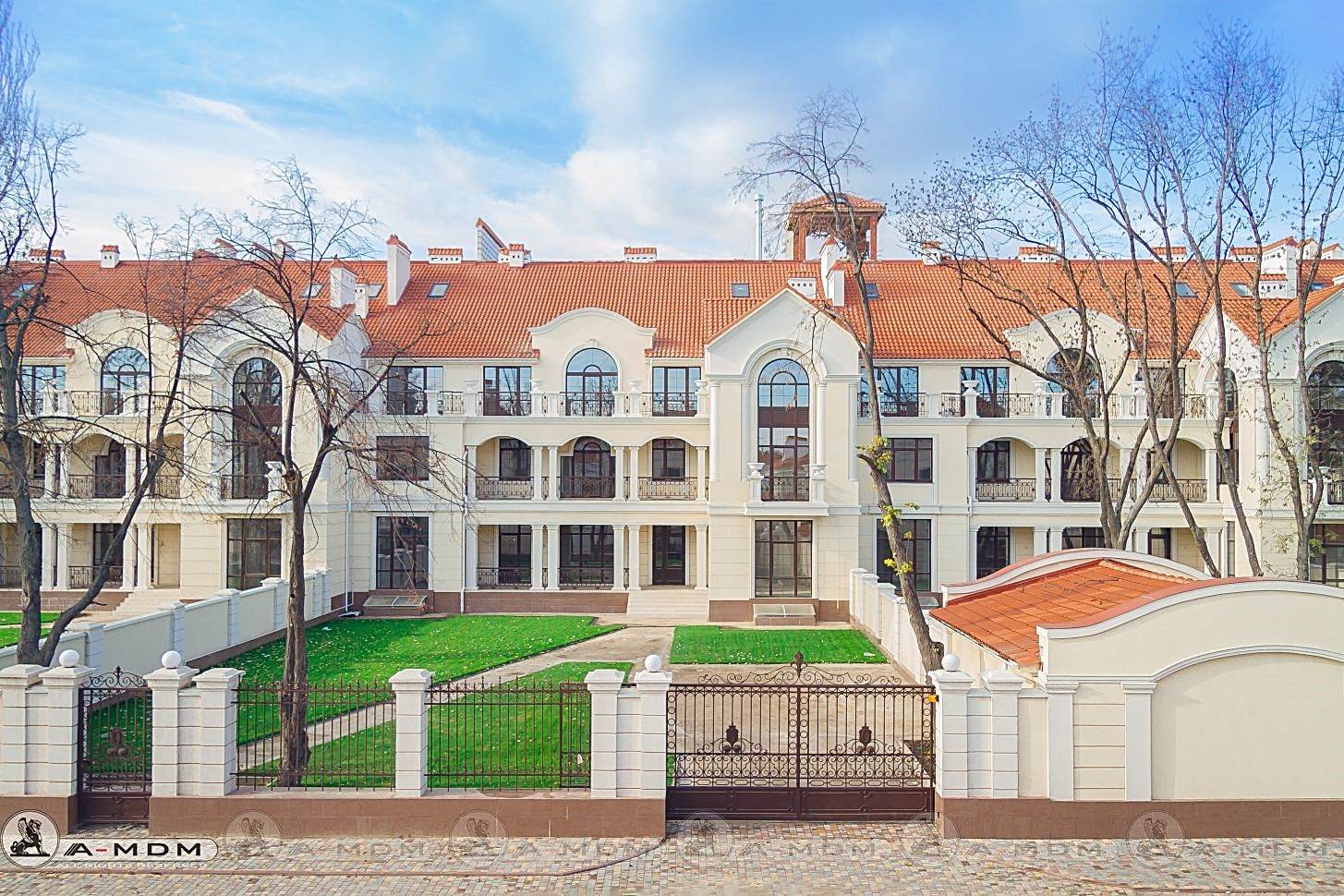 Royal Gardes, elite town house, Odesa
