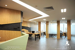 Luxury office and showroom design