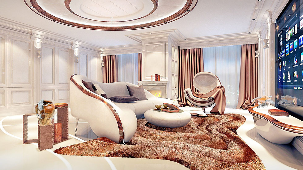 Luxurious prefab apartment