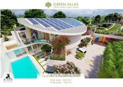 green TARA  villa B & C. Smart eco villa