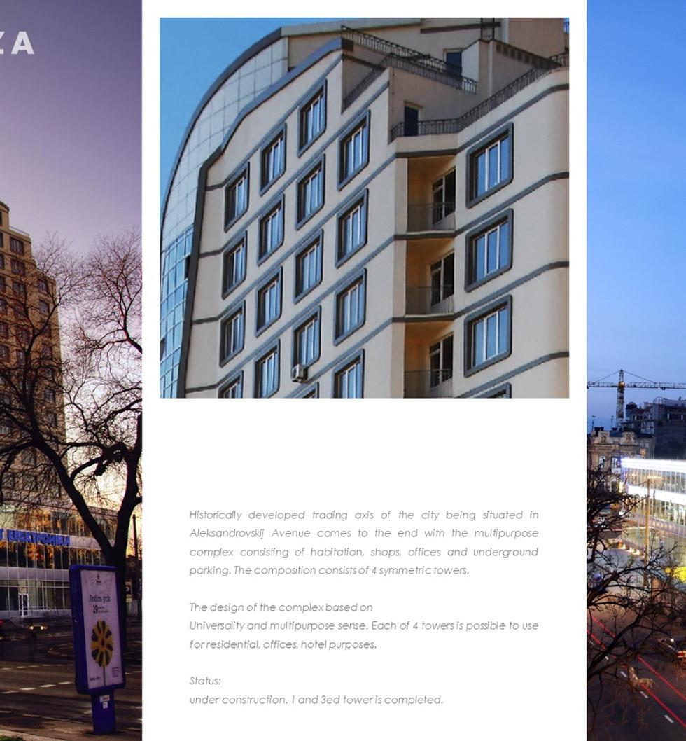 APARTMENTS Building Odesa