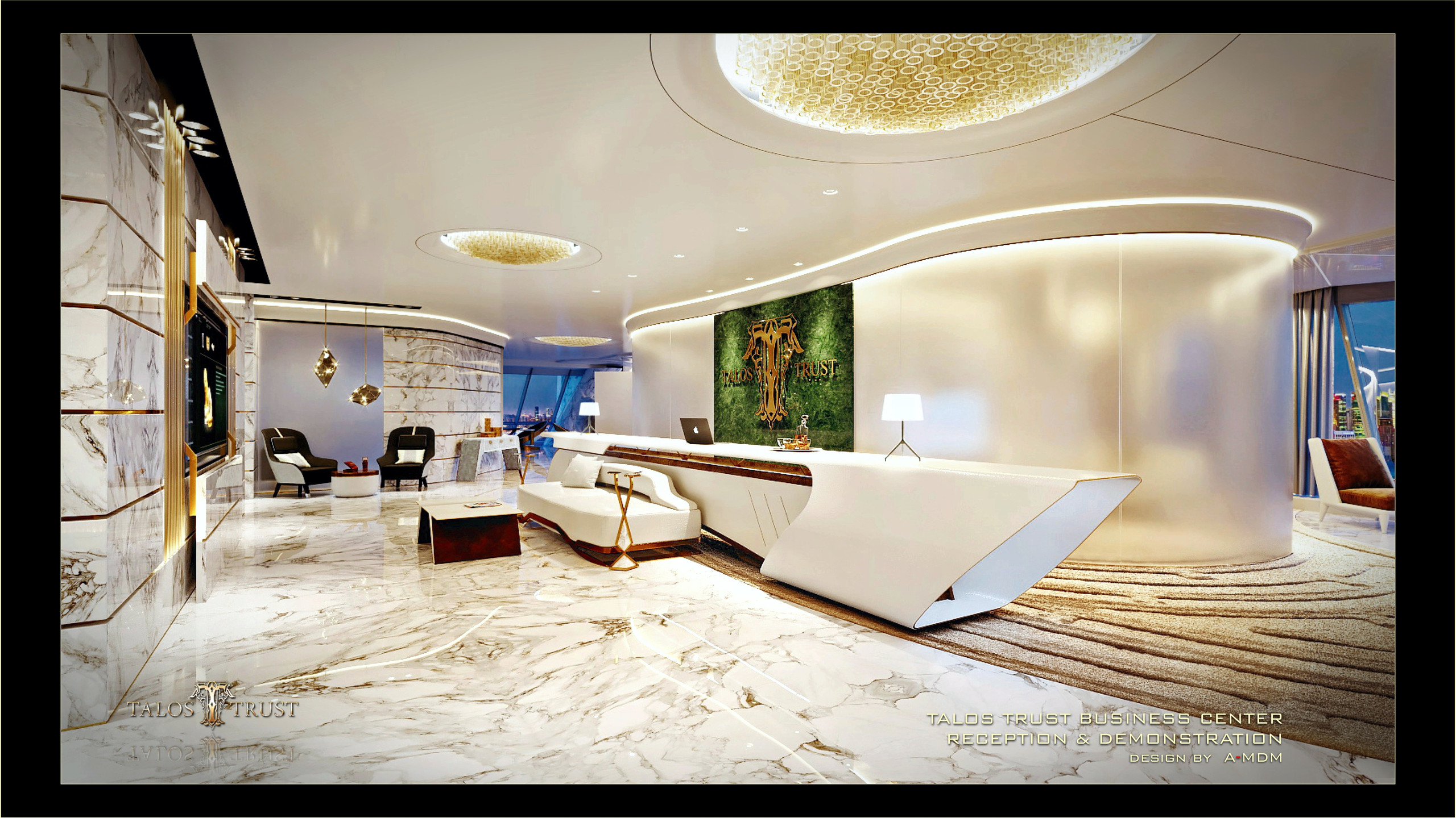 Interior Design of Business Cente