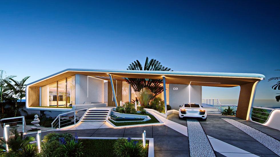 VILLA C2, 5+1 bedrooms, 840 m²