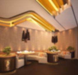 Cosmopolitan HOT POT  Restaurant and Lounge. Vip area. Contemporary Design