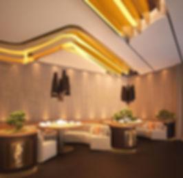 Cosmopolitan HOT POT  Restaurant and Lounge. Vip area. Contemporary Design