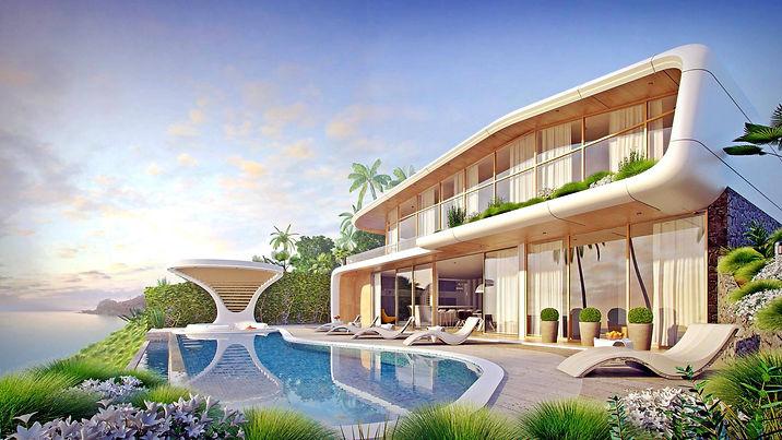 seaview  4 bedrooms luxury villa