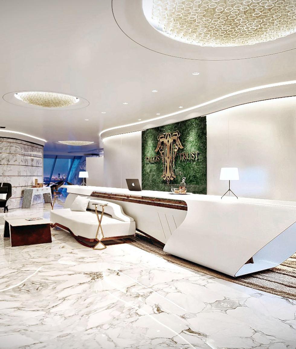 BUSINESS CENTER TalosTrust Reception Shanghai