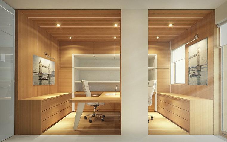 Prefab office, eco materials