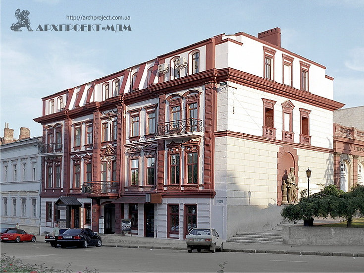 Historic Building on 9 Lanzheronovskaja Street,Odessa