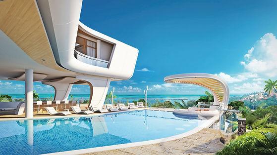 Villa model, visualizations