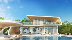 3 bedrooms Luxury Villa with infinity pool