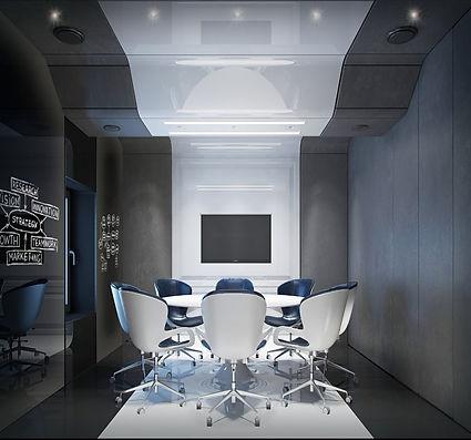 Prefab office meeting room