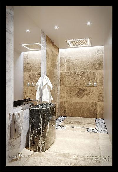 Luxury office toilet