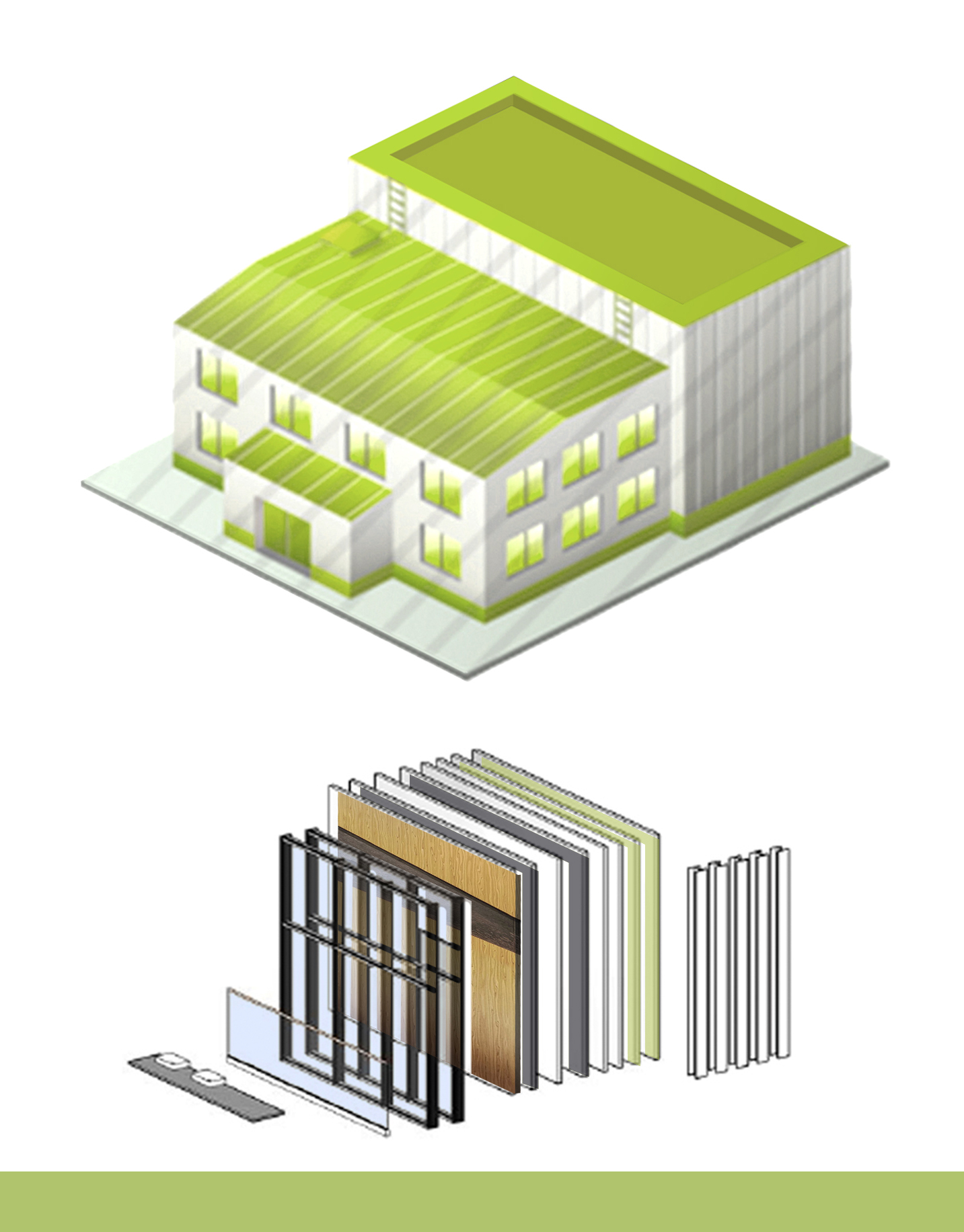 Factory Production. Prefabricated