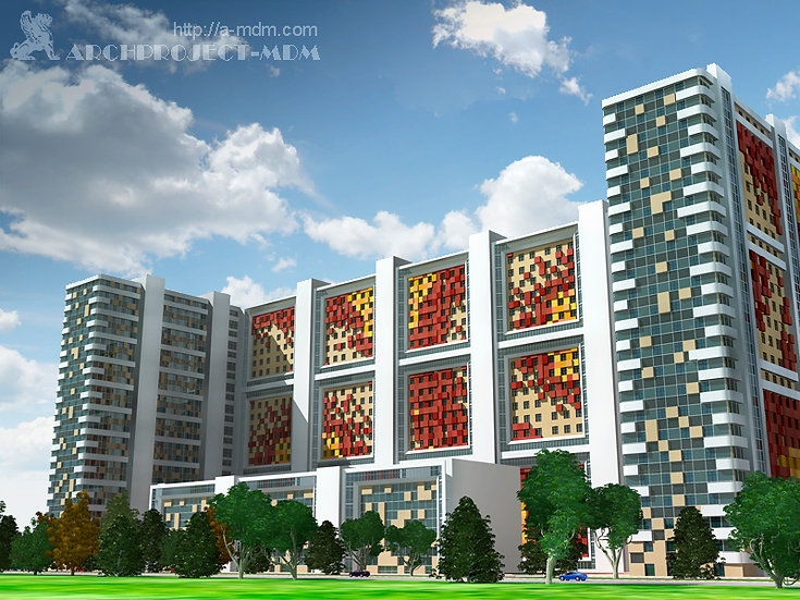Residential Mixed Use Complex