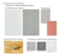 Facade Materials, Floor