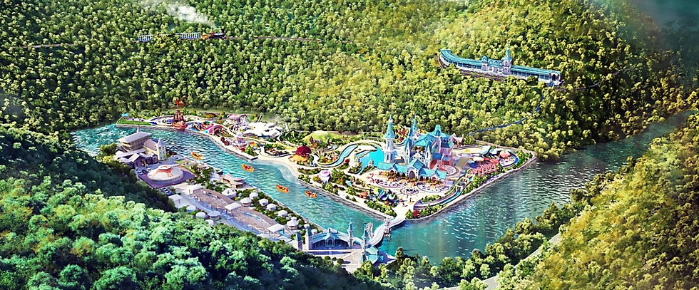 "Guangdong ""Dream Drift"" Eco Park 广东梦境漂流"