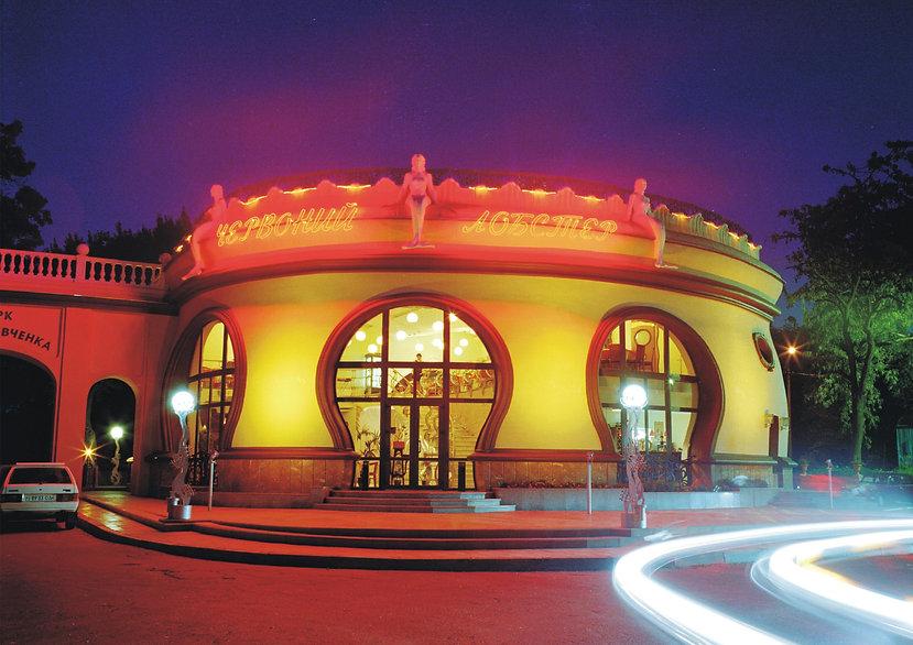 Restaurant Red Lobster. Architectural Design