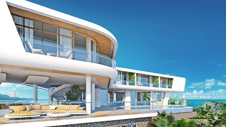 VILLA A1800 7+2 bedrooms Area -1 855m²