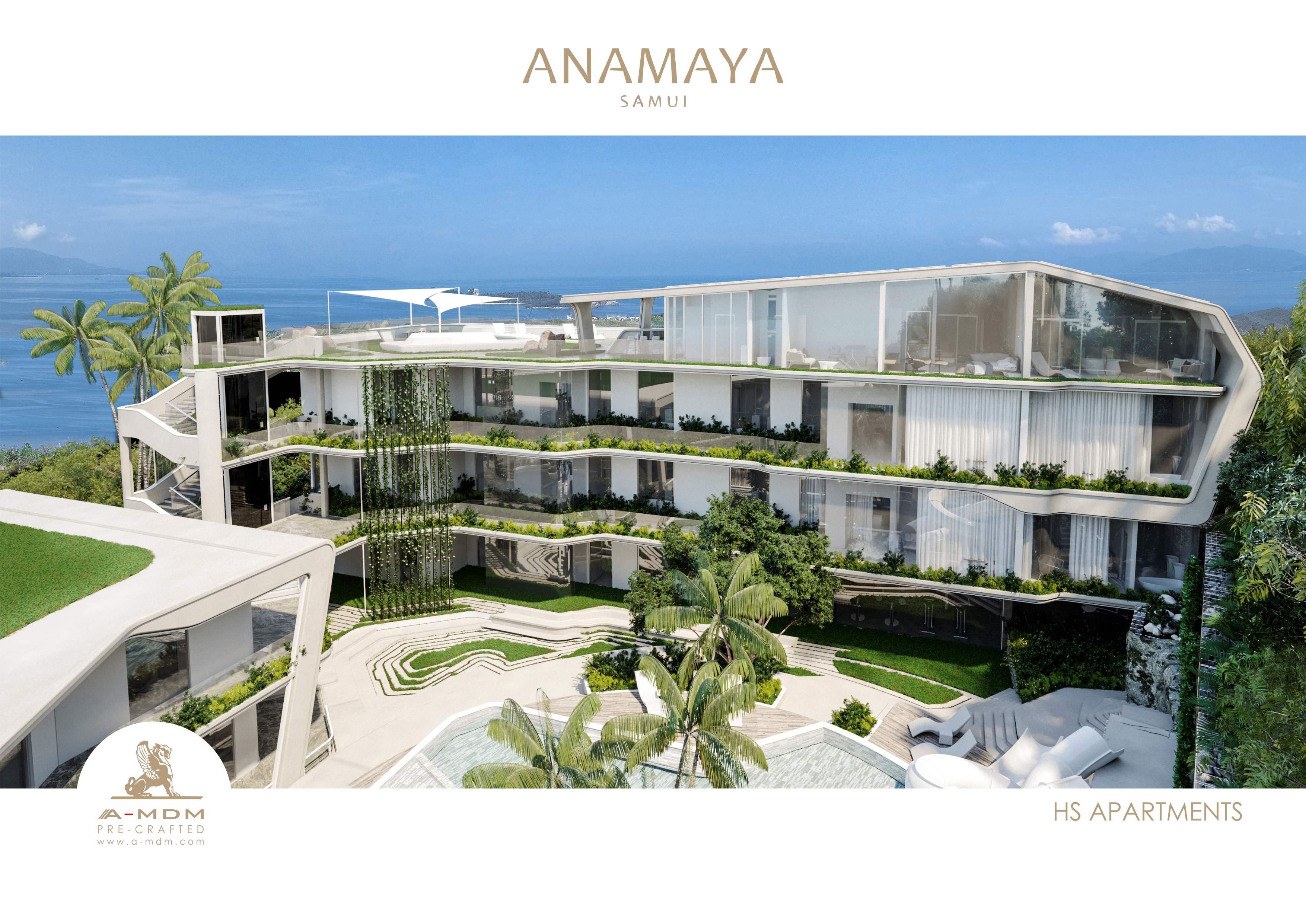 ANAMAYA G WEST.HS APARTMENTS. VIEW 1