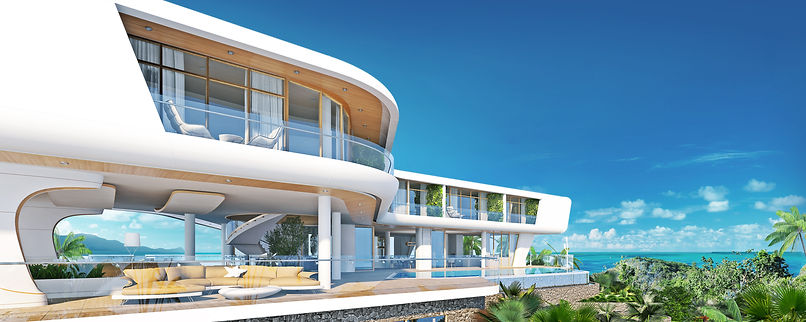 Extrim Luxury Villa A1. Anamaya Samui. 360 panorama sea view villa