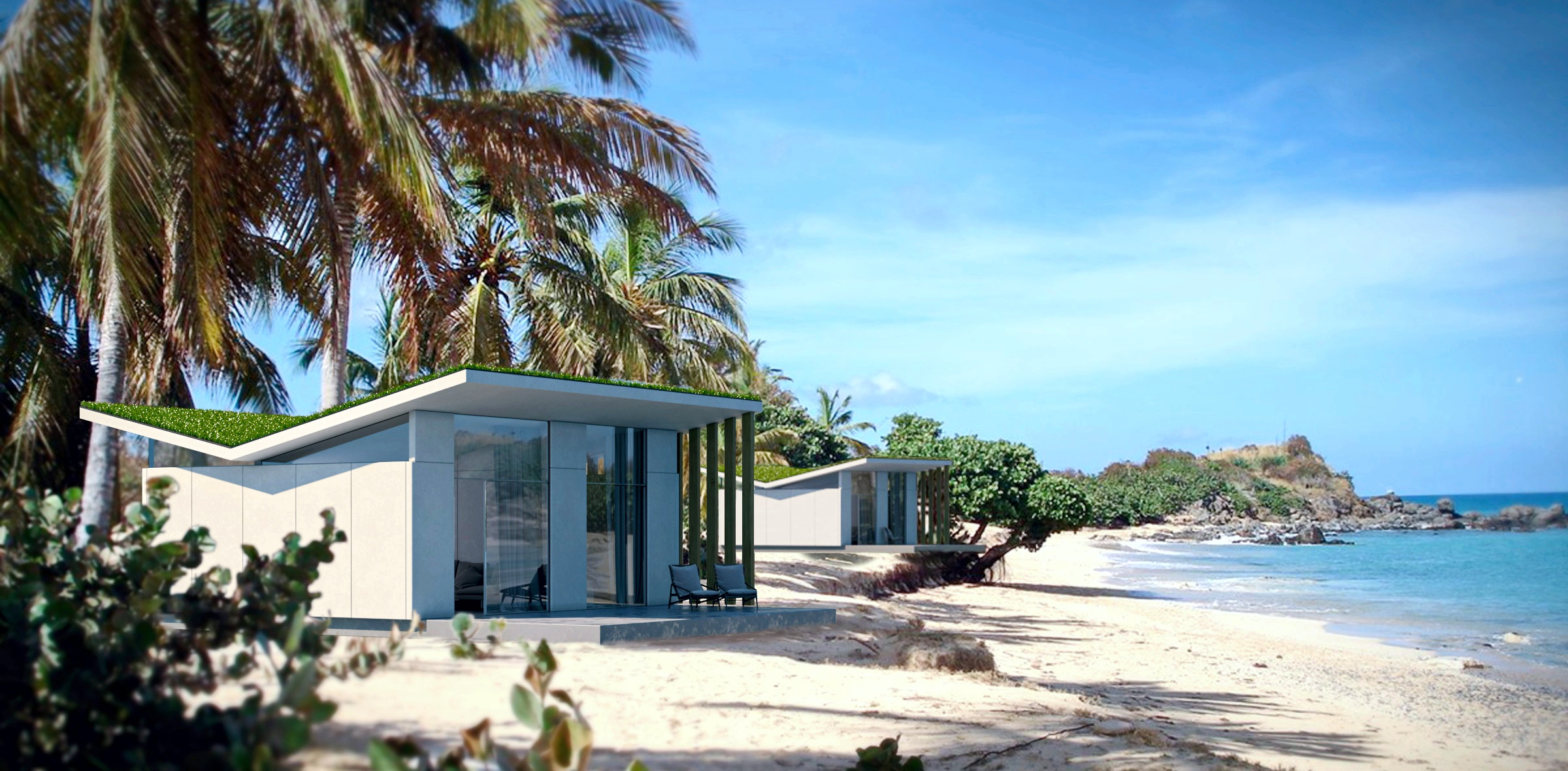 Sophi Luxury bungalows, modular villa, prefab villa, beach house