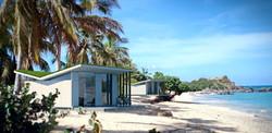 Sophi Luxury bungalows, modular villa, prefab villa, beach house