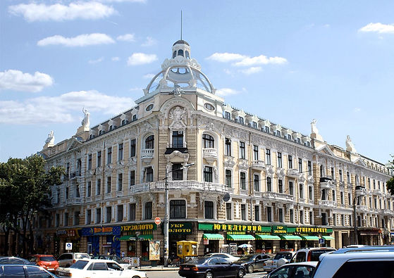 Renovation of old buildings and city monuments