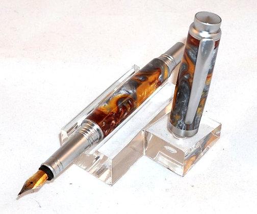 General, Molten Metal Inlace Acrylester, Satin Chrome Hardware