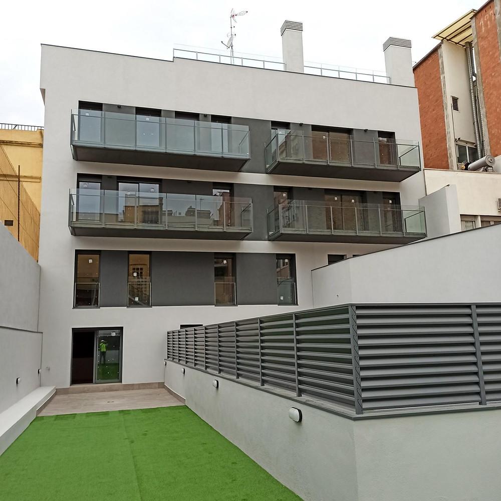 Edifici d'habitatges   Hospitalet de Llobregat   Archs Constructora