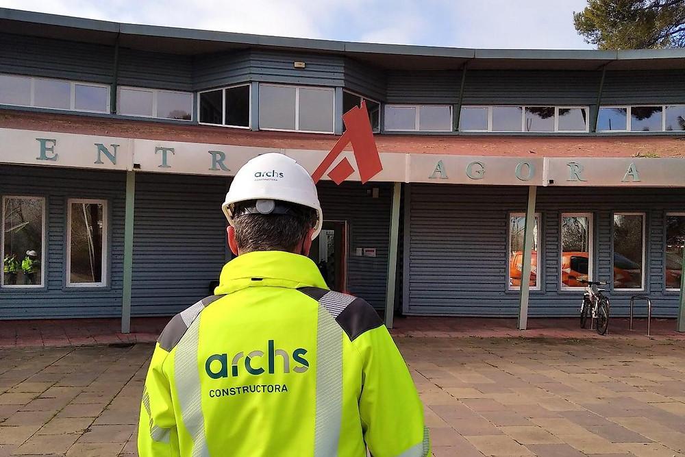 Àgora Center   Archs Constructora   energy efficiency improvements