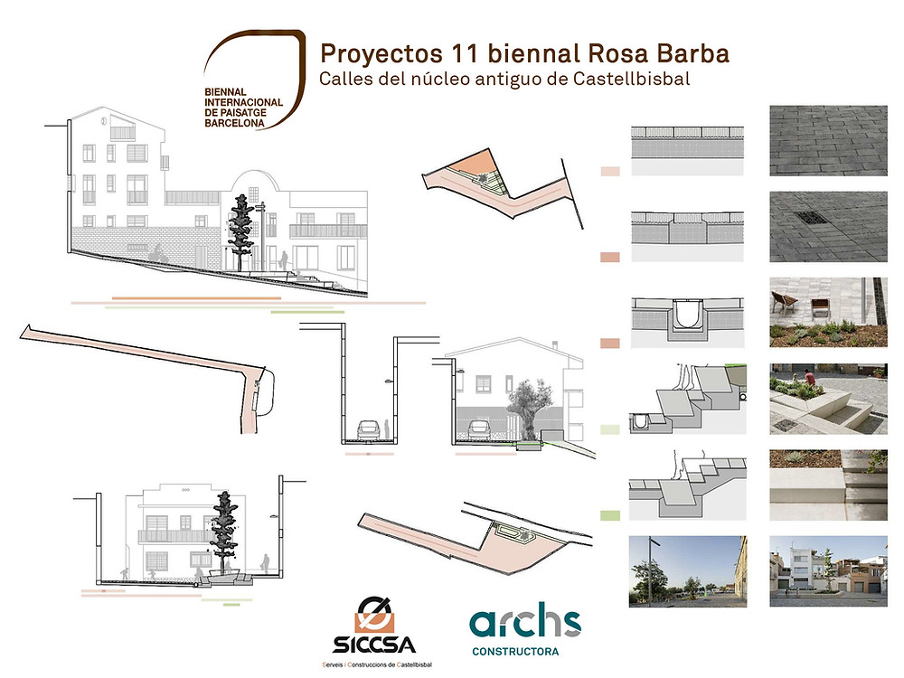 Archs Constructora. Redeveloping in Castellbisbal, 11th INTERNATIONAL LANDSCAPE BIENNIAL