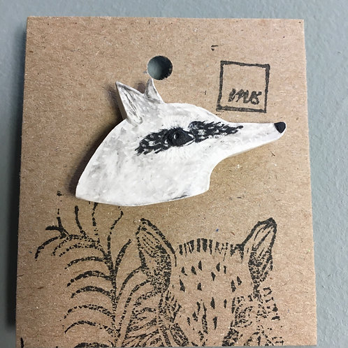 Pin's numbat «Blanche»