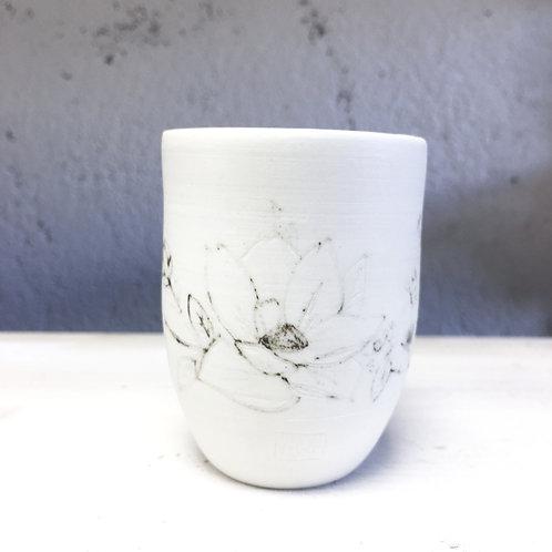 Petit Gobelet Fleurs 1