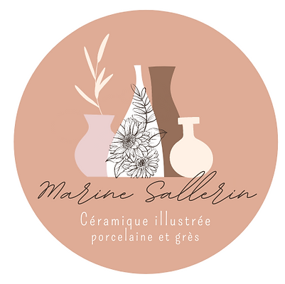 Logo Marine Sallerin illustré nude, style vintage.png