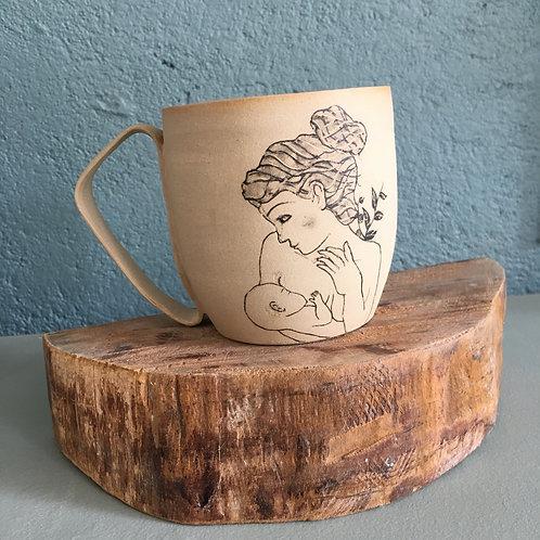 Tasse / Mug Motif allaitement