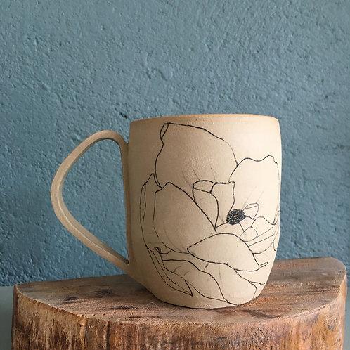 Tasse / Mug Motif fleur