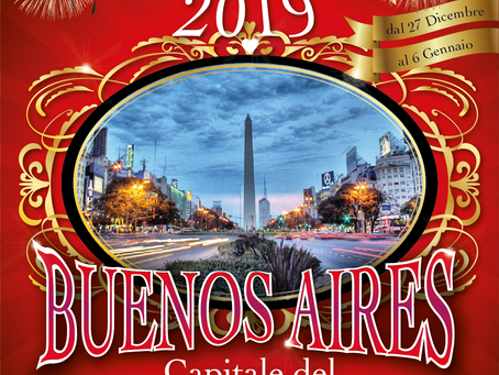 VIAGGIO-TANGO A CAPODANNO 2019              BUENOS AIRES ARGENTINA