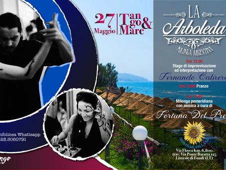 InTango Eventi presenta: MILONGA LA ARBOLEDA in Pomeridiana.                     27 maggio 2018
