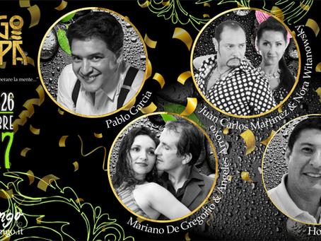 """INTANGO """"EVENTI"""" PRESENTA: Tango&Spa (FIUGGI 24/25/26 novembre 2017)"""