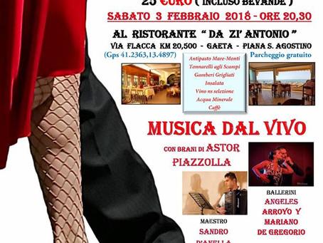 Tango Y Milonga 3 Febbraio - Gaeta